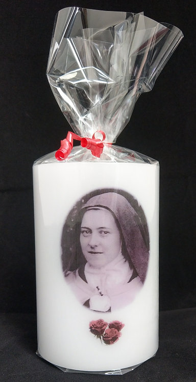 Saint Therese Candle Lantern