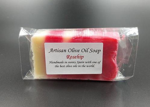 Artisan Olive Oil Soap-Rosehip