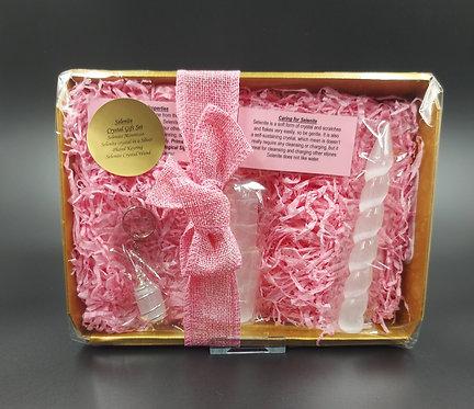 Selenite Crystal Gift Set