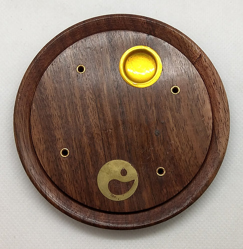 Wooden Ash Catcher Plate