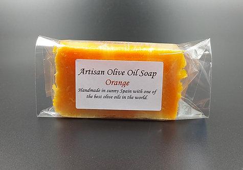 Artisan Olive Oil Soap-Orange