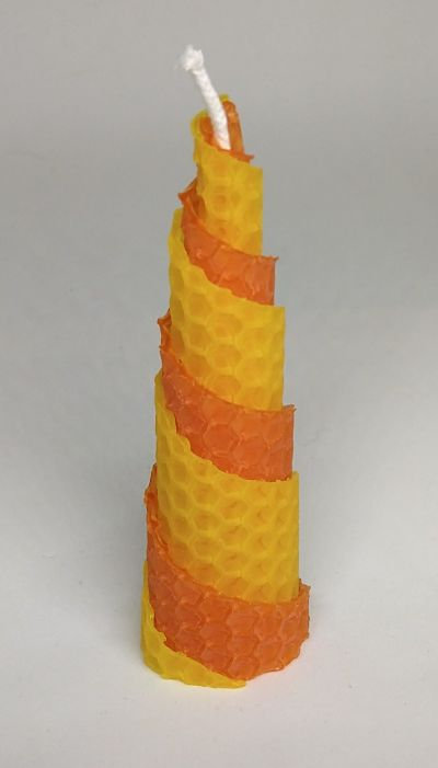 Rolled Beeswax Candles (4 inch)
