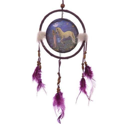 Unicorn Garden Dreamcatcher 16 cm