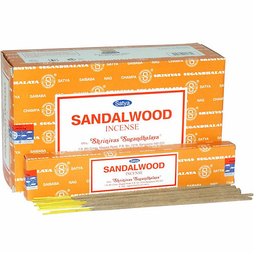 Satya Sandalwood Incense Sticks 15g