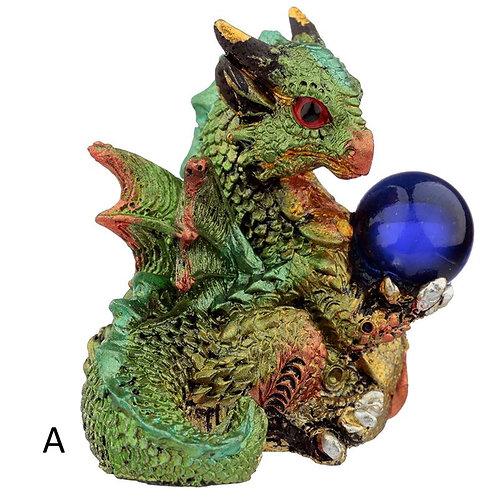 Elements Dragon with All Seeing Orb