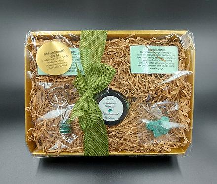 Archangel Raphael Candle & Crystal Gift Set