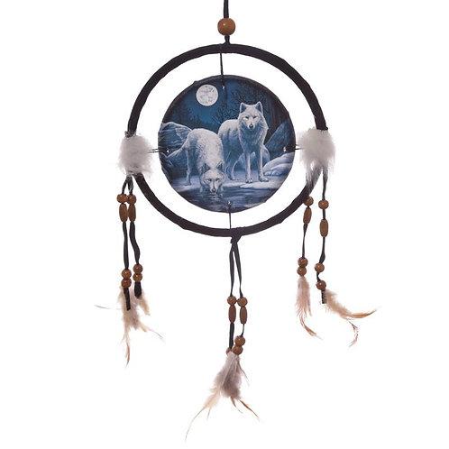 Warriors of Winter Wolf Dreamcatcher 16 cm