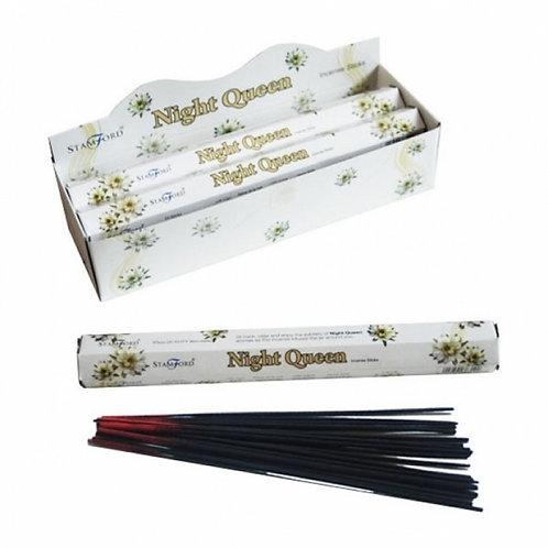 Stamford Hex Night Queen Incense Sticks