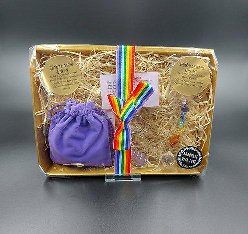 Chakra Crystal Gift Set