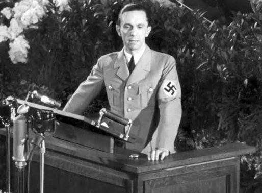 Goebbels' Principles of Propaganda.