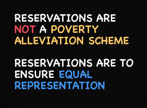 Busted: Four Myths on Caste-Based Reservation Policies