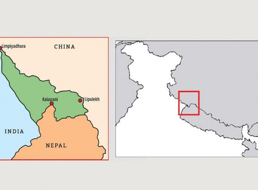 Nepal's new map: Second Constitution Amendment Bill.