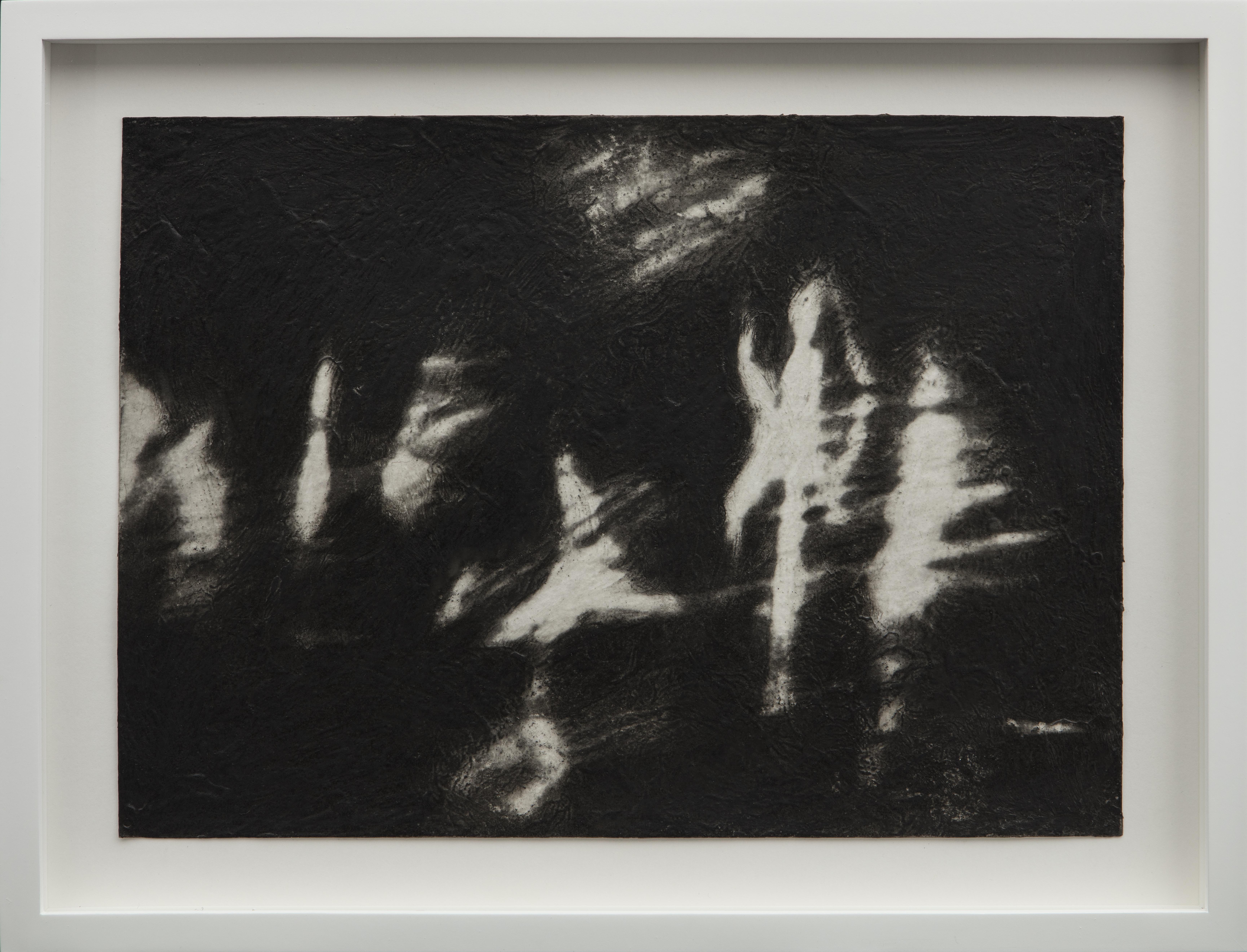 04_Canto II, 2017 Charcoal and acrylic m