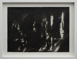 02_Canto II, 2017 Charcoal and acrylic m