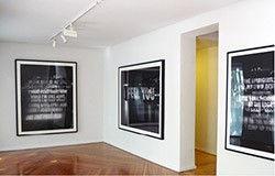 jenny holzer Marta Cervera Gallery