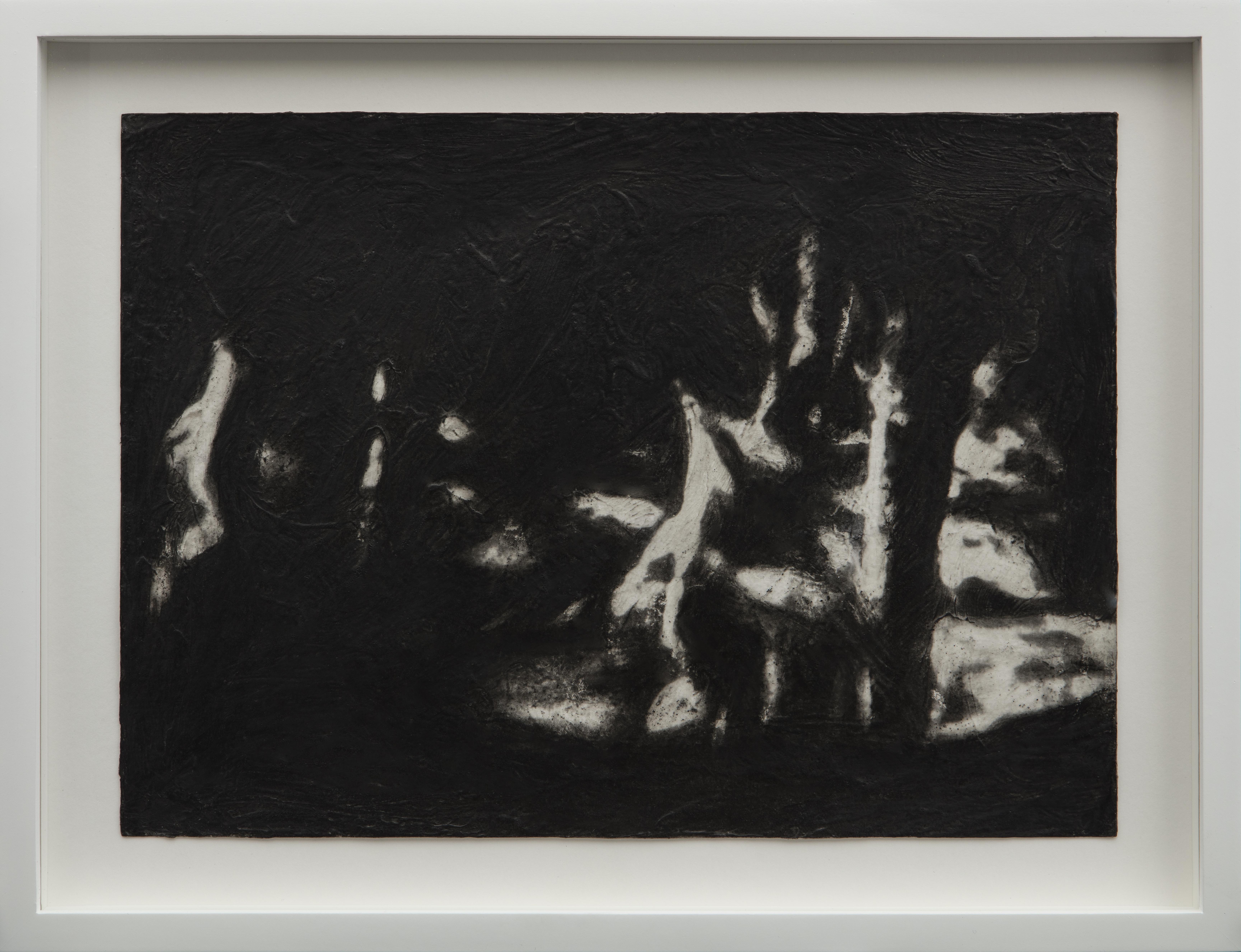 05_Canto II, 2017 Charcoal and acrylic m