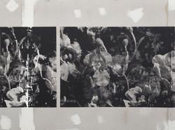 Antonio Menchen, Untitled, 2021, silkscreen print on plasterboard, 106 x 142 cm
