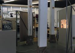 Negro fondo ultraterreno, 2019, Installation view at Bulegoa z/b, Bilbao, Spain