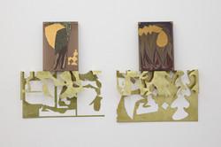 Leonor Serrano Rivas, Untitled (Estrella studio) nº0 3, 2019 - 2021, Metacrilate, brass, sugar, wax,