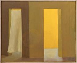 Espíritus 2, 2017-2021, oil on canvas 46 x 55 cm