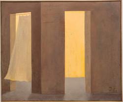 Espíritus 3, 2017-2021, oil on canvas 46 x 55 cm