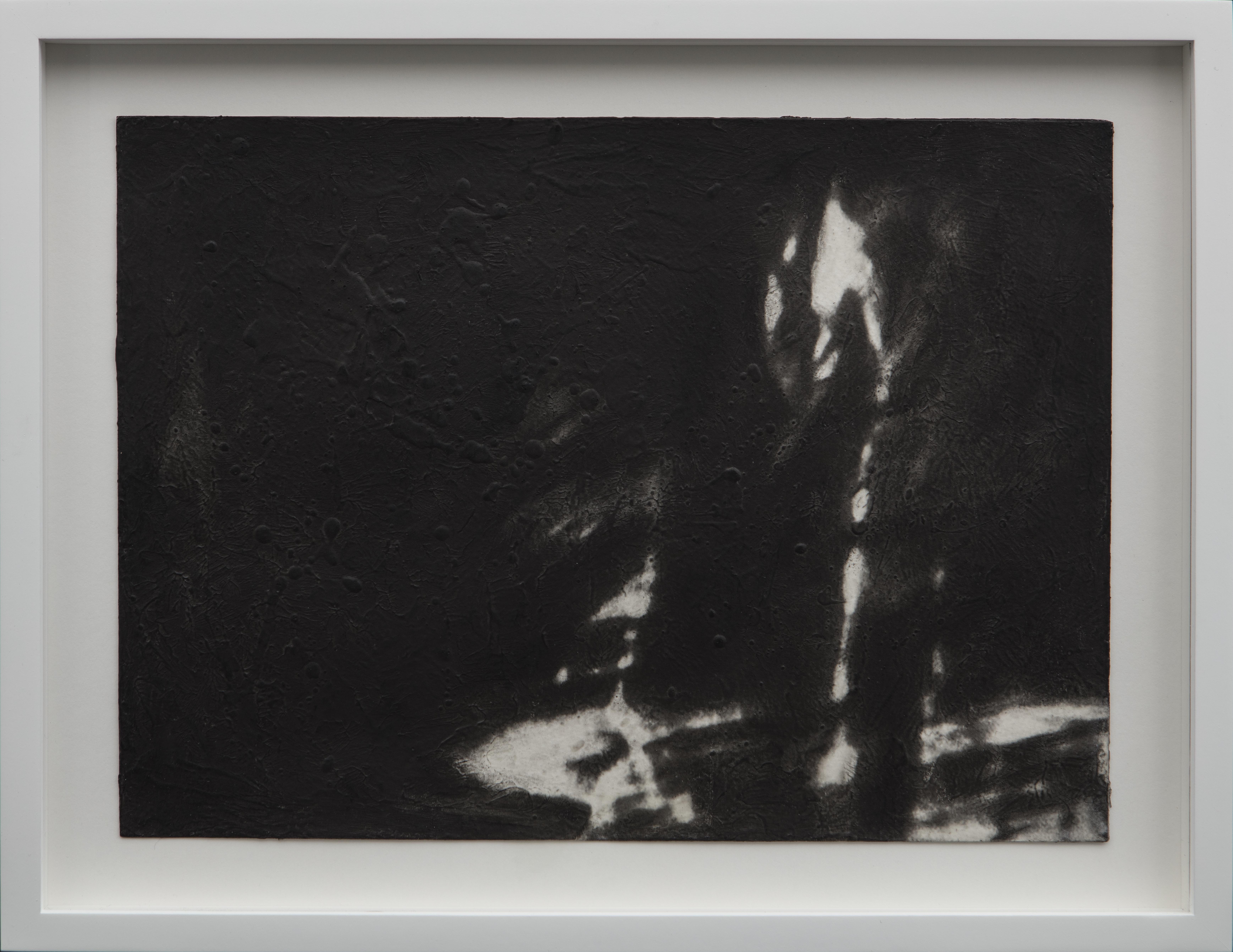 01-Canto II, 2017 Charcoal and acrylic m