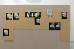 Meltdowns, 2021, Inkjet print on paper, cartboard, 133 x 58 cm