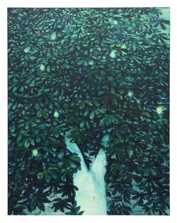 Xie Lei, Fecund-II , 2021, oil on canvas, 205 x 160 cm