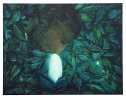 Xie Lei, Inspiration, 2021, oil on canvas, 50 x 65 cm