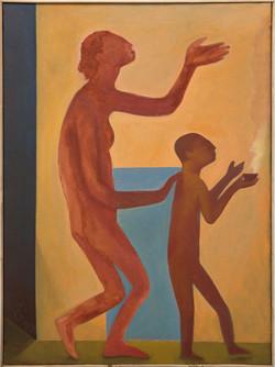 Lazarillo, 2021, oil on canvas, 73 x 50cm