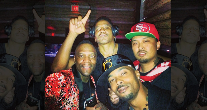 Q-TIP of ATCQ, M1, MAC BUTTA
