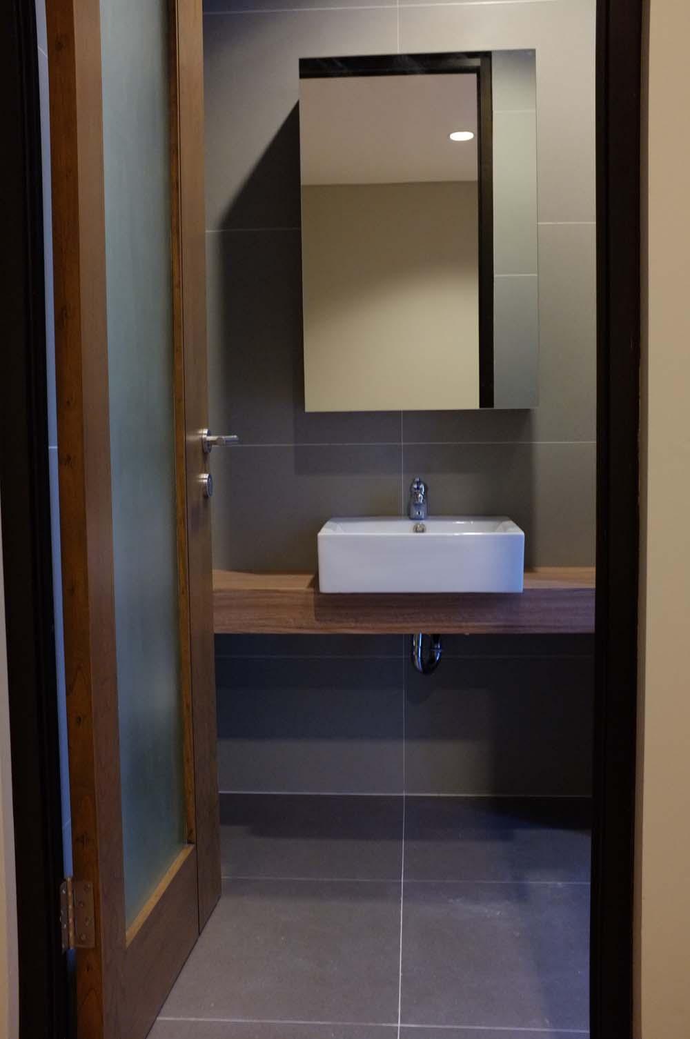 Bathroom @ Three J Residence