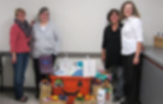 CSI bin with Brenda Kroft, Terri Kuss, K