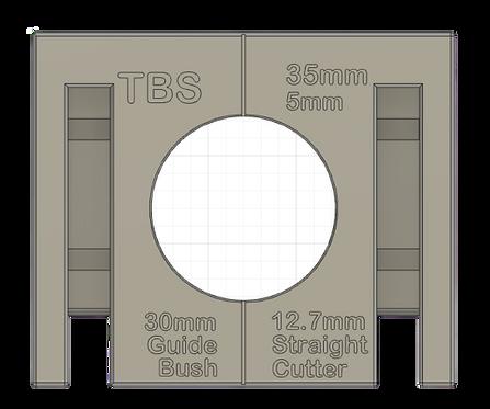 35mm concealed hinge router jig