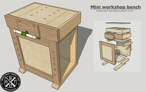 Mini workbench plans