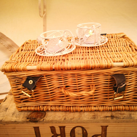 Extra wicker/rustic deoration