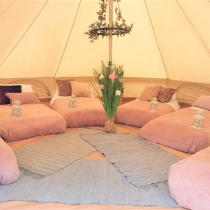 Rose Gold sleepover tent