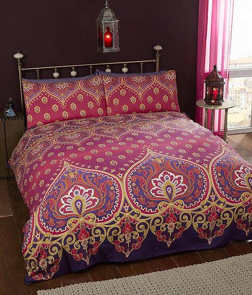 Festival style mandala bed linen ~ Ruby