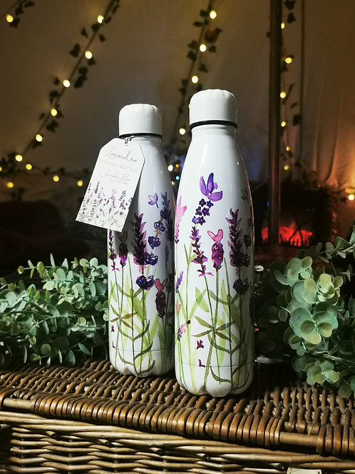 Lavender Water Bottle