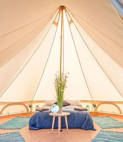 Optimum Luxury bell tent hire.jpg