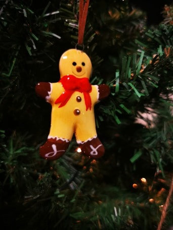 Gingerbread Man Hanging Decoration