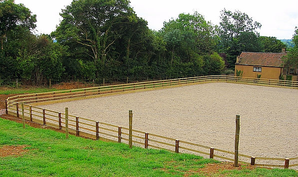 Riding arena installation