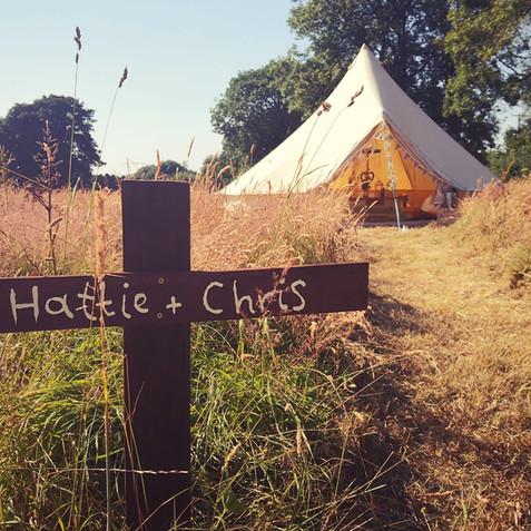 Bride tent