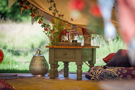 Boho set up in the 7m bell tent.jpg