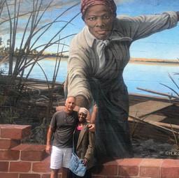 Harriet Tubman Mural in Cambridge, MD