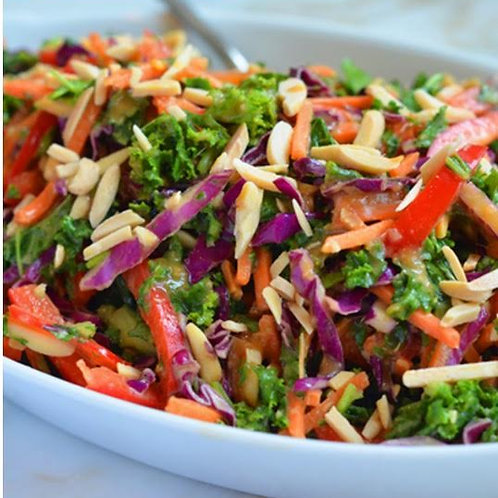 Asian Kale Slaw Salad