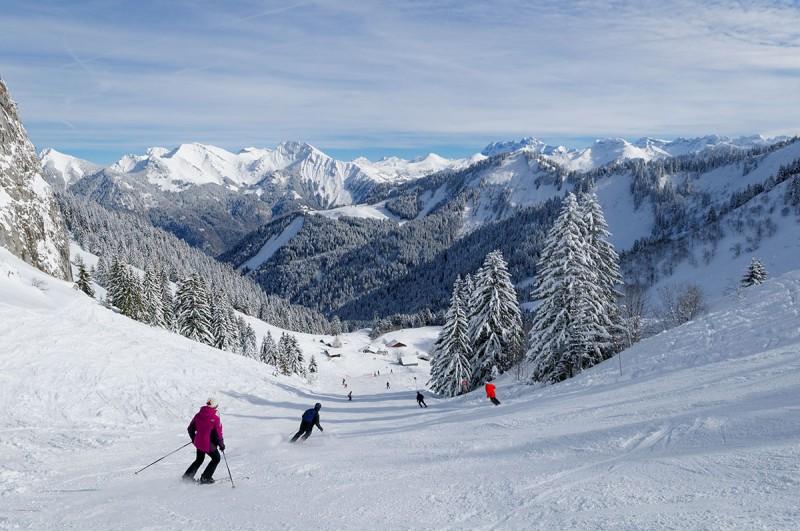 Le ski au Roc d'enfer