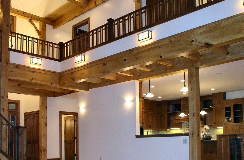 Indoor Timber Frame Elements