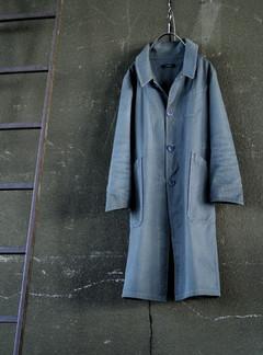 A/W 016 / 天然染め帆布コート