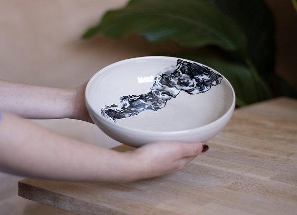 Mountain pasta bowl